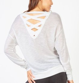 Tops Hard Tail - Lattice Pullover