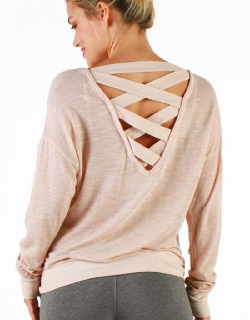Tops Hard Tail - Lattice Pullover