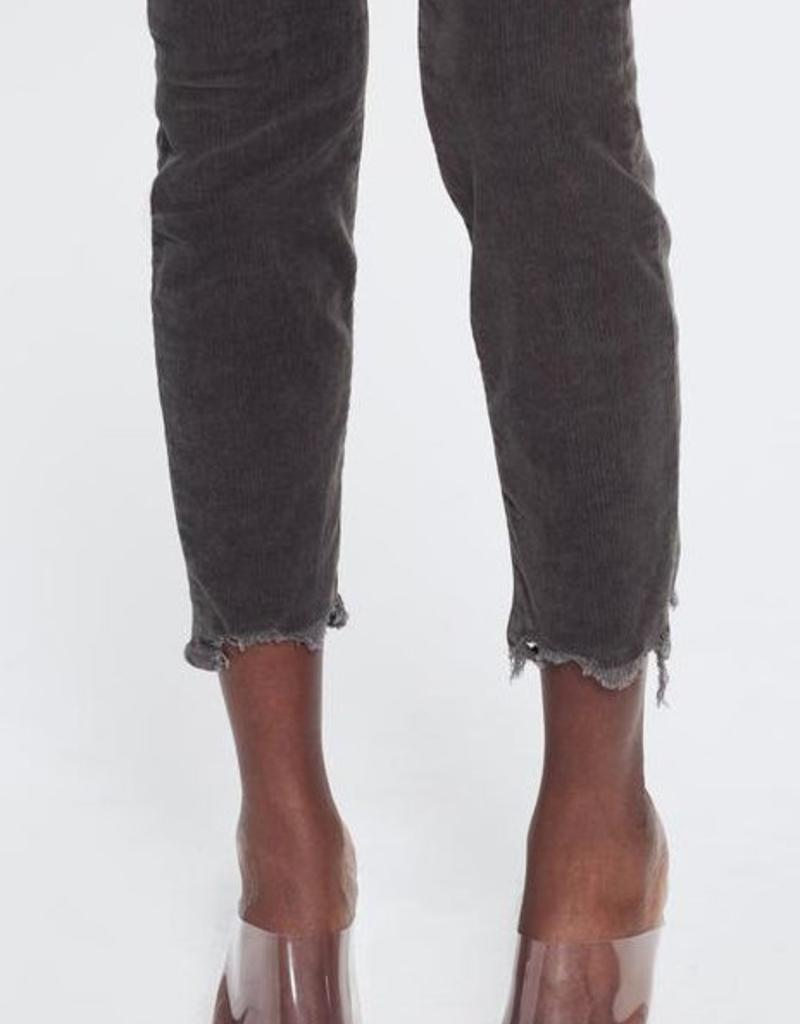 Jeans MOTHER - High Waisted Looker Ankle Chew in Taupe