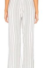 Pants bella dahl -  Side Slit Wide Leg Pant in Soft Olive