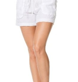 Shorts Hard Tail - Slouchy Cargo Linen Shorts