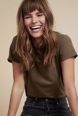 T-Shirt Nation LTD - Marie Boxy Crop Tee in Recycled Cotton