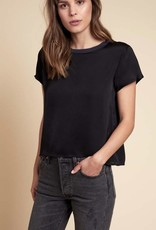 Tops Nation LTD - Marie Sateen Boxy Crop