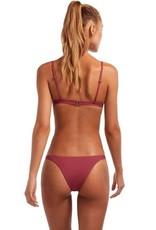 Swimwear Vitamin A - Carmen Bottom in Havana Rose EcoLux