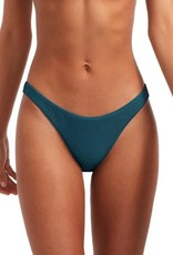 Swimwear Vitamin A - California High Leg in Jade BioRib