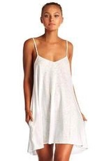 Cover Up Vitamin A - Paloma Knit Mini Dress in White EcoCotton