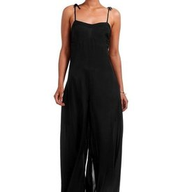 Jumper Vitamin A - Jules Jumpsuit in EcoMuslin Black
