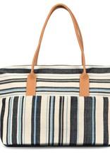 Bags Mercado Global - Dolores Weekender in Ocean Stripe