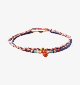 Bracelets Chan Luu - Blue Mix Pull-Tie Bracelet Set