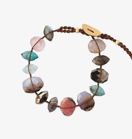 Jewellery Chan Luu - Pink Mix Single Wrap Bracelet