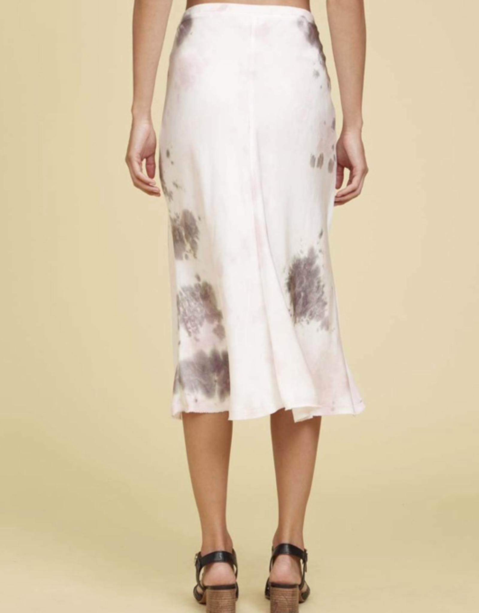 Skirt NATION LTD - Mabel Bias Cut Skirt in Pink Moon