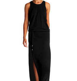 Dresses Vitamin A - Island Maxi in EcoCotton Black