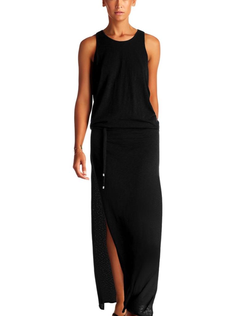 Dresses Vitamin A - Island Maxi in EcoCotton Black