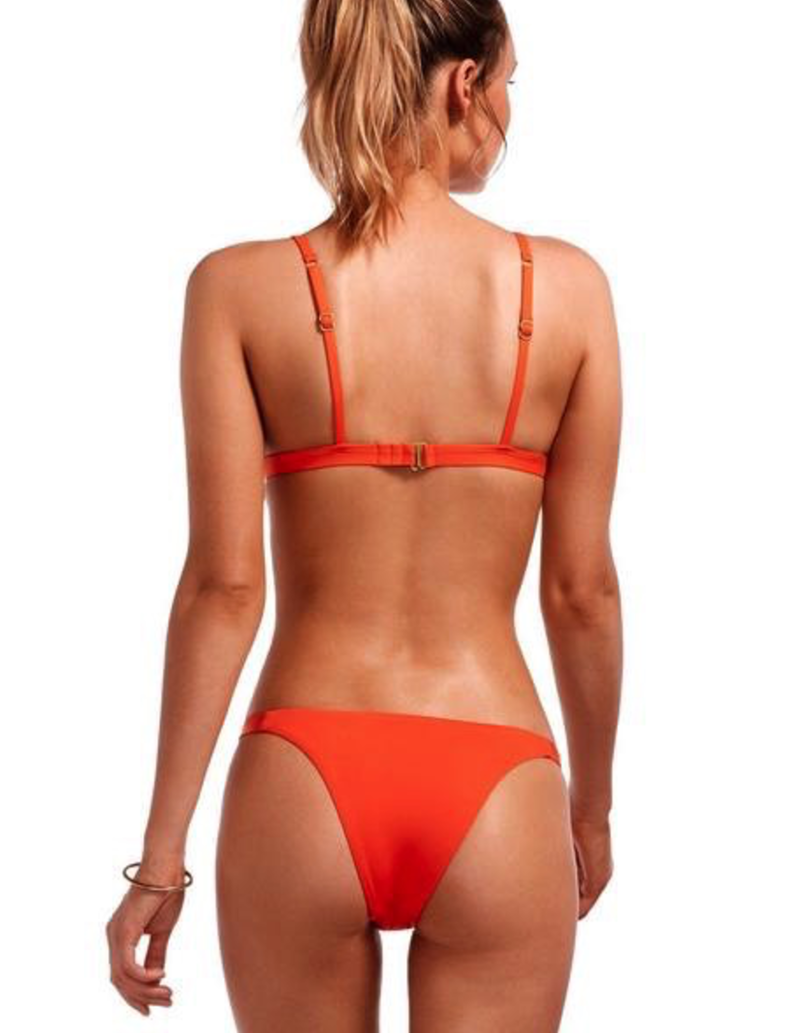 Swimwear Vitamin A - Moss Top in Papavero