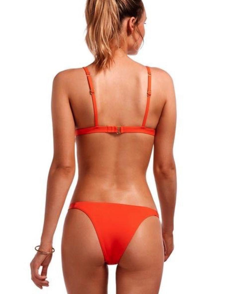 Swimwear Vitamin A - Moss Top in Papavero