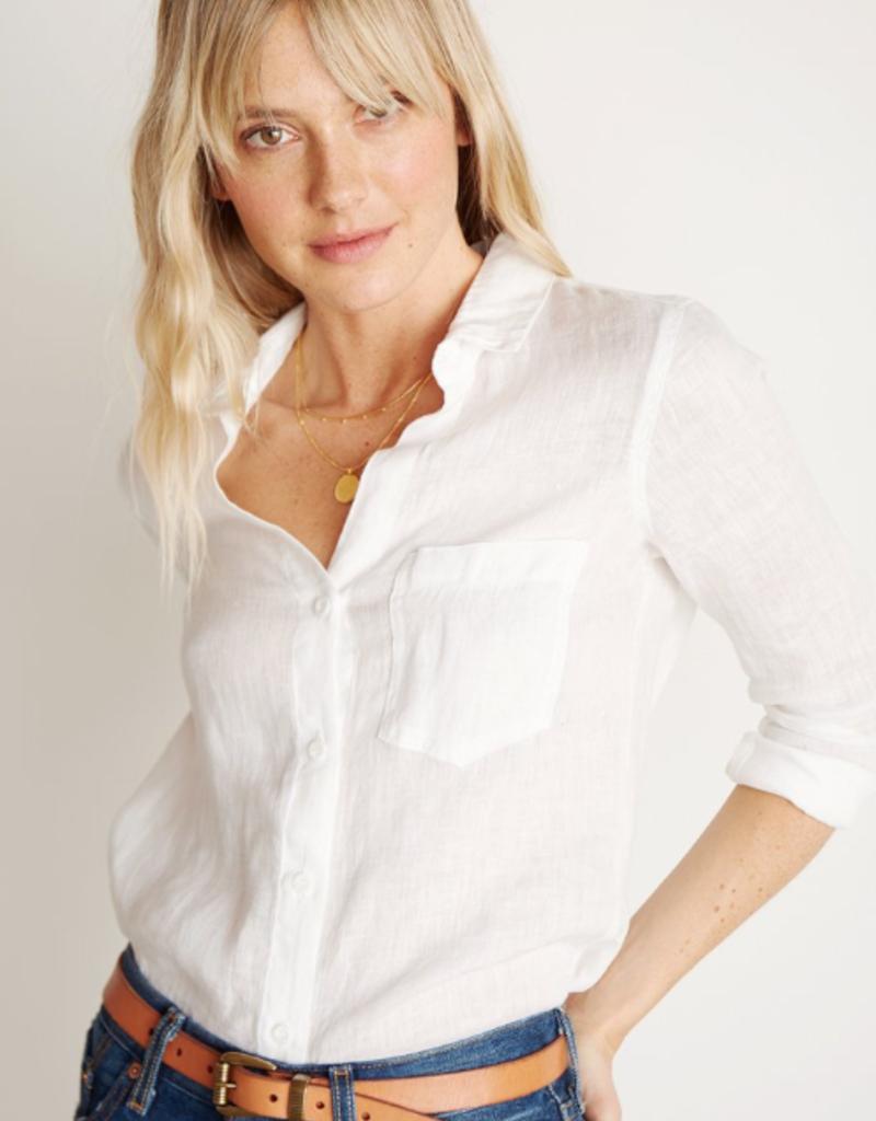 Shirts bella dahl - Pocket Button Down in White
