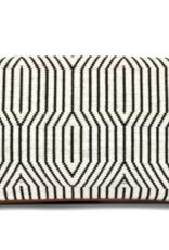 Bags Mercado Global - Paulina Clutch in Black Brocade Multi