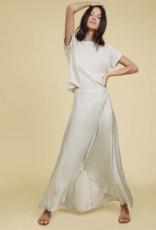 Skirt NATION LTD - Giorgia Wrap Skirt in Peppermint