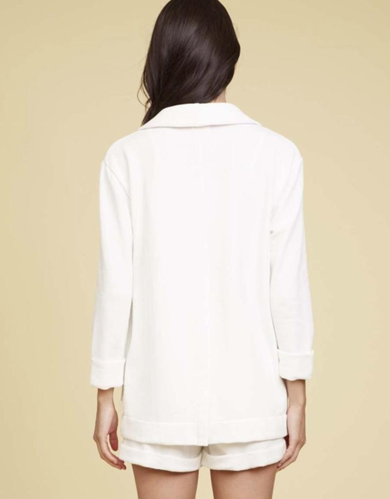 Jacket NATION LTD - Drea Relaxed Blazer in Ivory