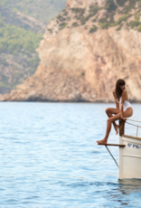 Swimwear Vitamin A - Alana Bodysuit in White BioRib