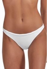 Swimwear Vitamin A - Luciana Full Coverage Bottom in White BioRib