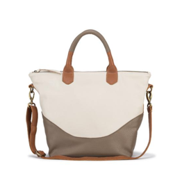 Handbags Molly G - Bridgette Tote in Bone