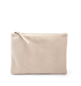 Handbags Molly G - Rebel Clutch in Bone