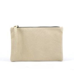 Handbags Molly G - Rebel Mini Clutch in Bone