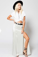 Skirt Stillwater - Mock Wrap Maxi Skirt