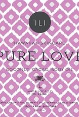 Skincare 'Ili Pure Love Coconut Cacao Body Oil