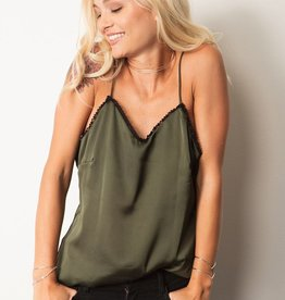 Tops Stillwater - The Lace Slip Cami Top