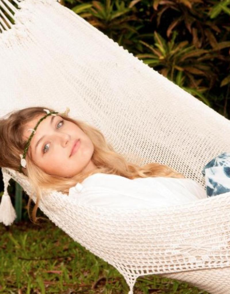 Hammocks by the sea company - Double Hammock in Cotton Crochet