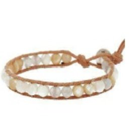 Bracelets Chan Luu - White Mix Stone Bracelet