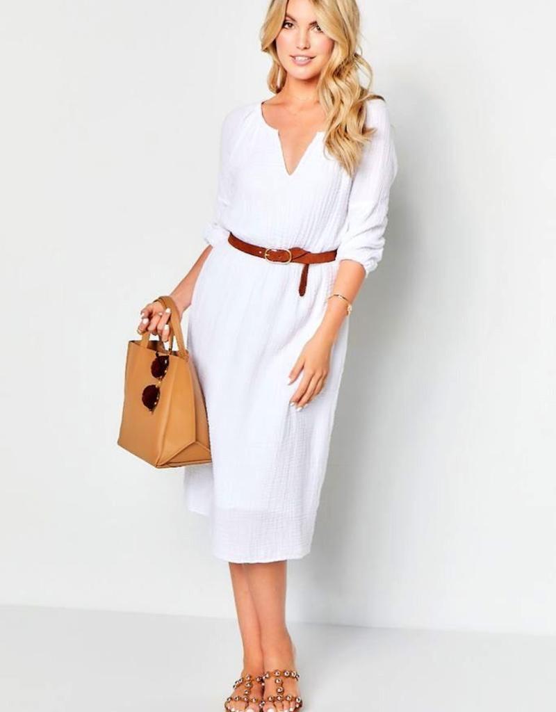 Dresses felicite - Peasant Dress in Cotton Gauze