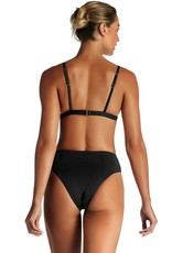 Swimwear Vitamin A - Moss Top in Black EcoRib