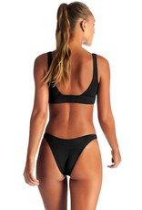 Swimwear Vitamin A - Sienna Tank in Black EcoRib