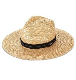Hats Vitamin A - Provence Hat in Natural/Black Band