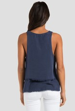 Tops bella dahl - Tiered Swing Tank in Nocturne Blue