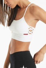 """Workout Wear Hard Tail - """"X"""" Side Middy Bra"""