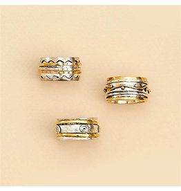 Gold/Silver Rotating Ring