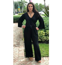 Zion Jumpsuit Black