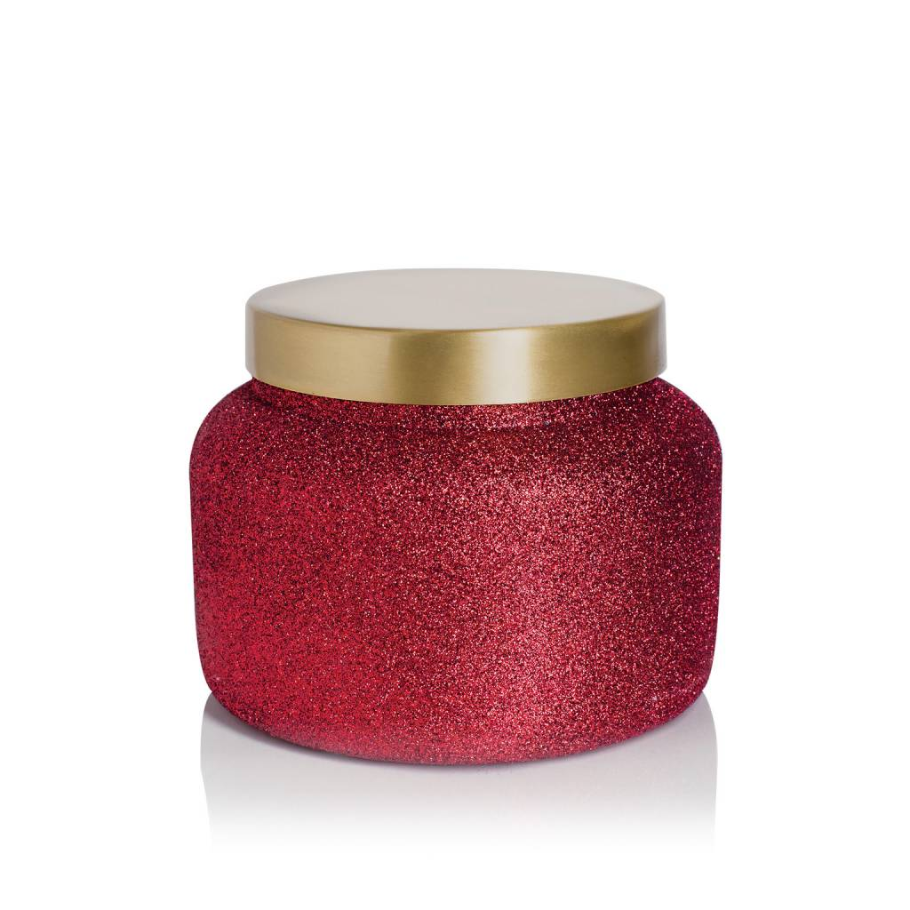 Volcano Red Glitter Sig. Candle