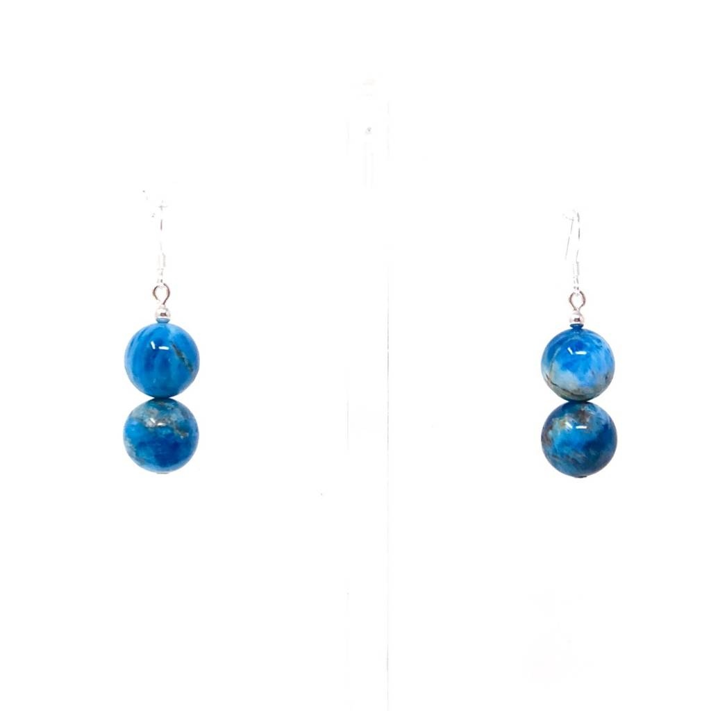 Apatite Double Drop Earrings