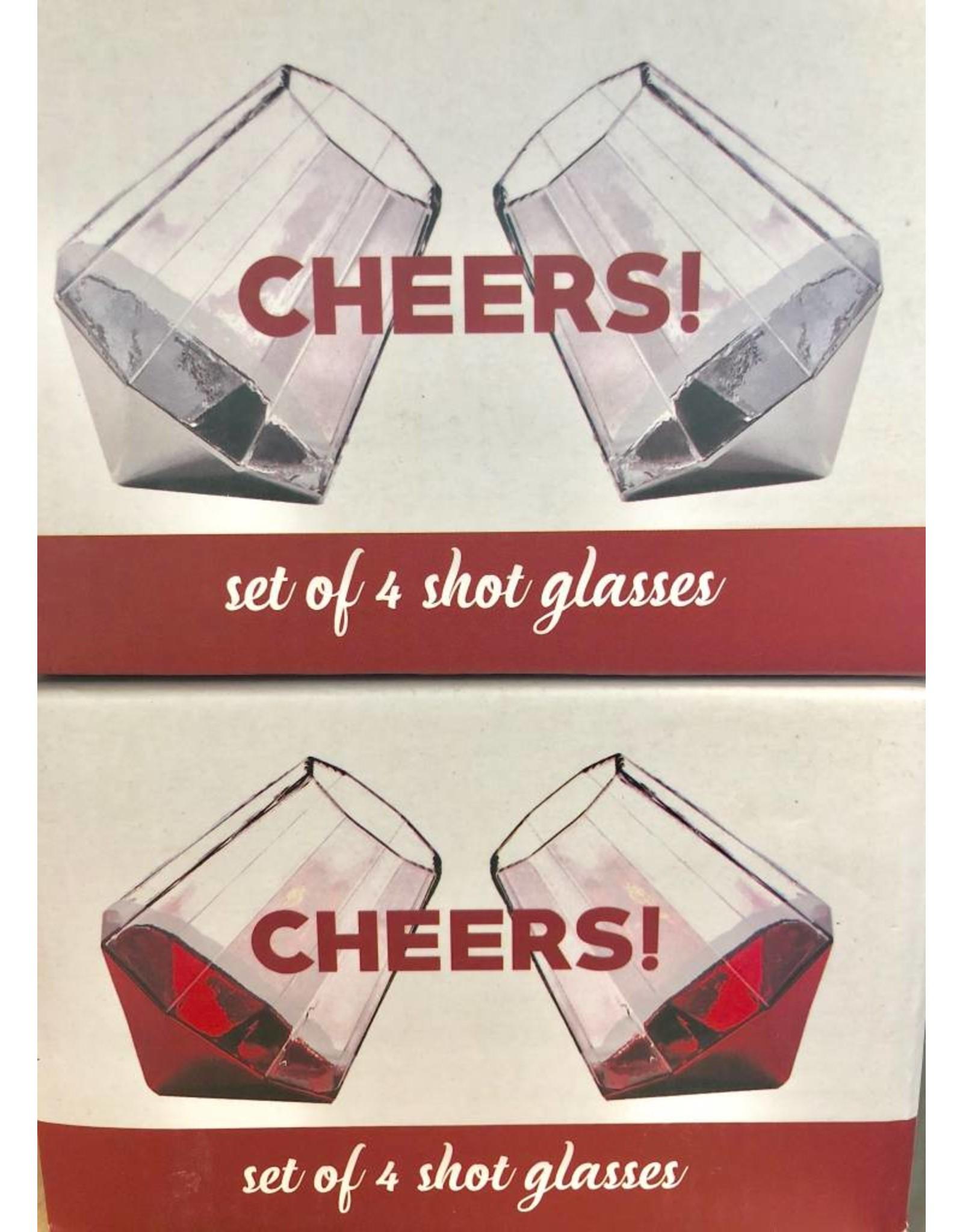 Diamond Shot Glasses
