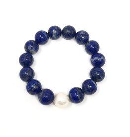 Lapis & FWP Bracelet