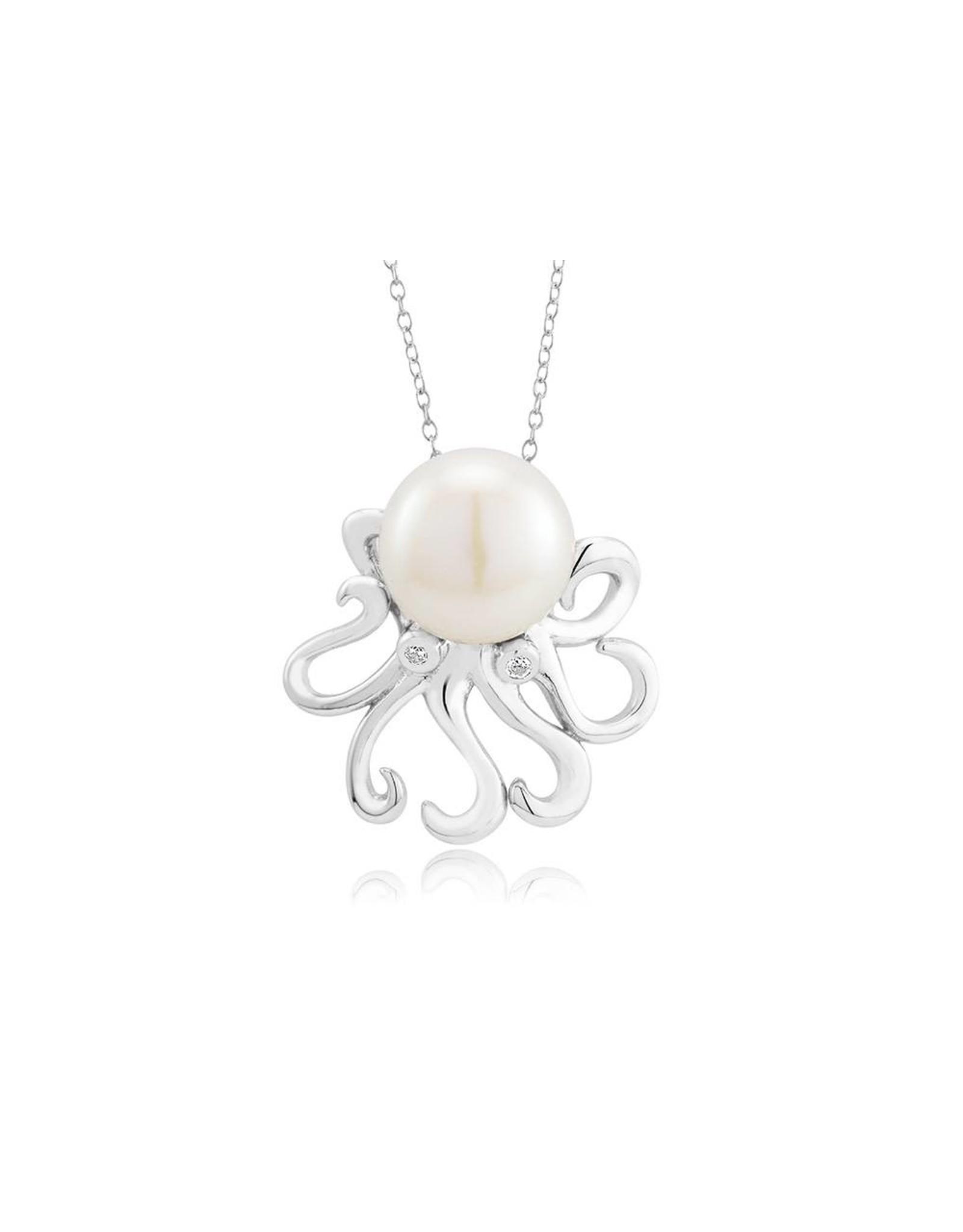 Pearl Octopus Pendant