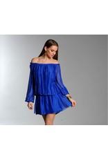 Royal Silk Mini Dress