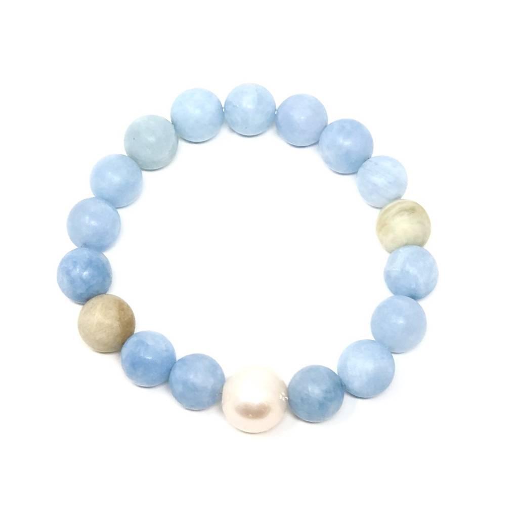 Matte Aquamarine FWP Bracelet