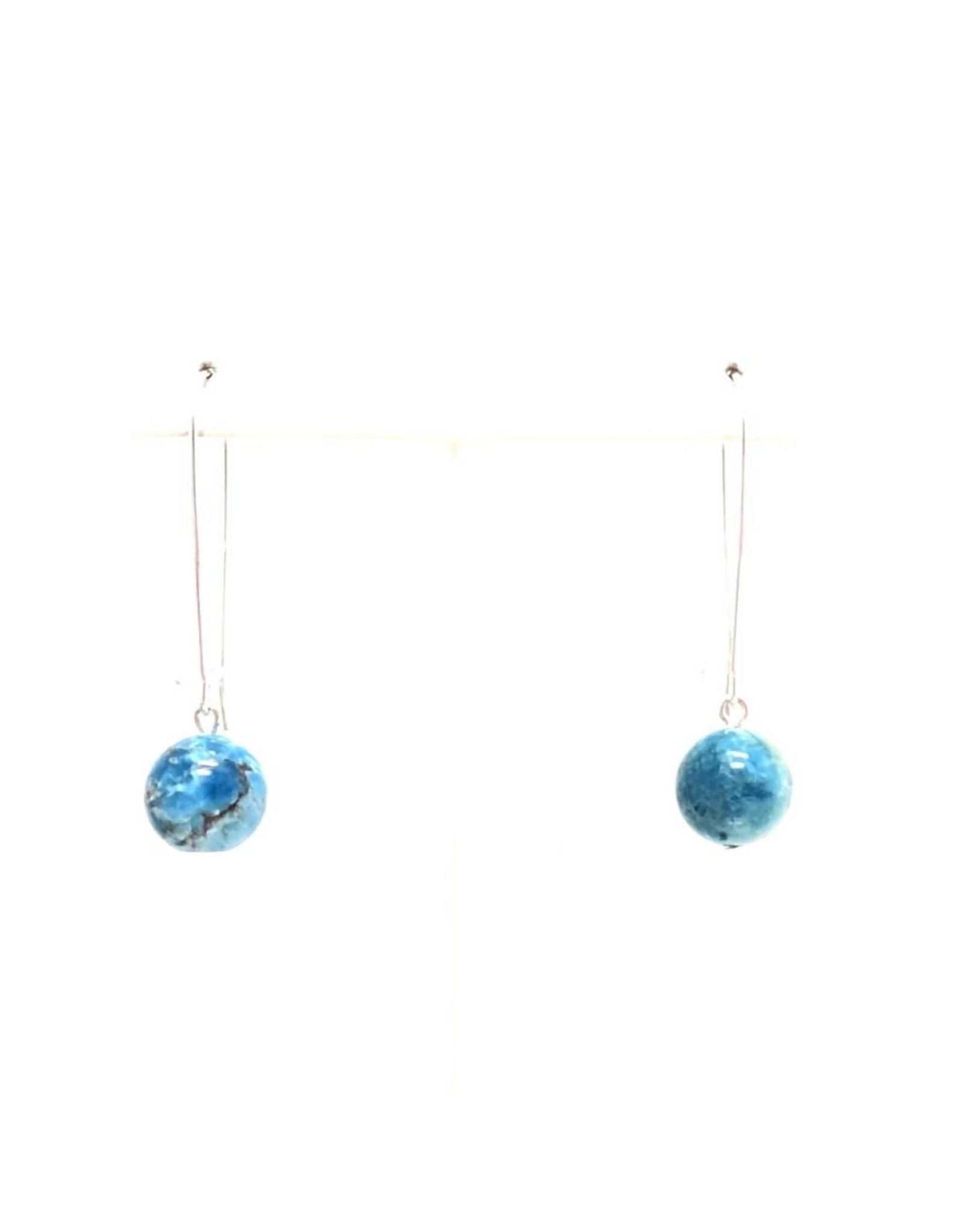 Apatite Kidney Wire Earrings