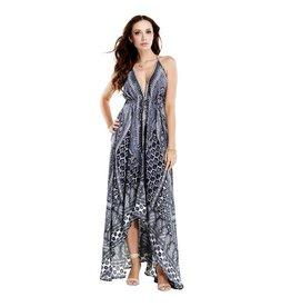 Midnight Nomad Maxi Dress